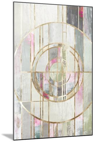Blush Deco I-PI Studio-Mounted Art Print