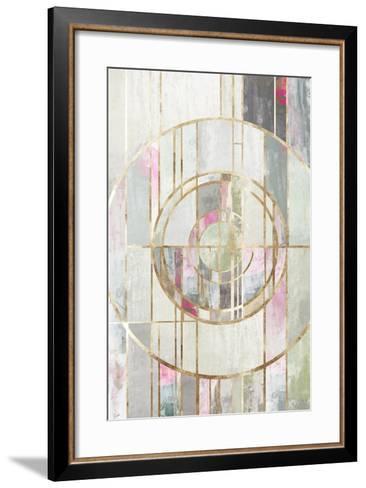 Blush Deco I-PI Studio-Framed Art Print