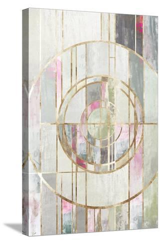 Blush Deco I-PI Studio-Stretched Canvas Print