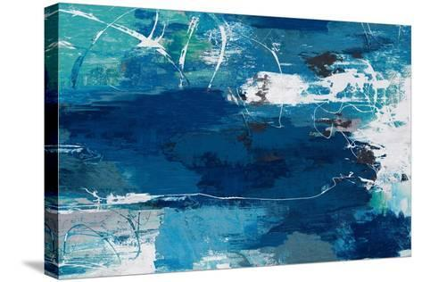 Blue Abstractions-PI Studio-Stretched Canvas Print