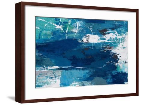 Blue Abstractions-PI Studio-Framed Art Print