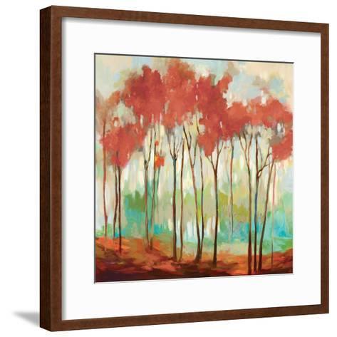 Beyond the Treetop-Allison Pearce-Framed Art Print