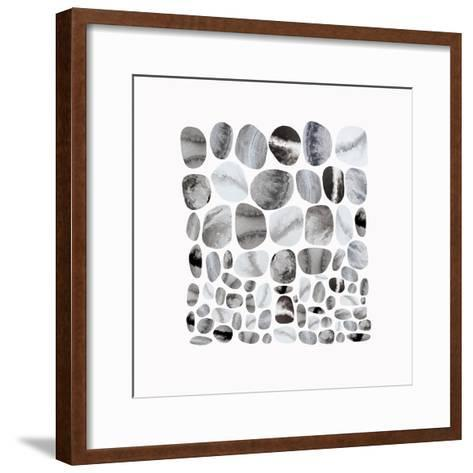 Pebble Treat II-Eva Watts-Framed Art Print