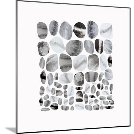 Pebble Treat II-Eva Watts-Mounted Art Print