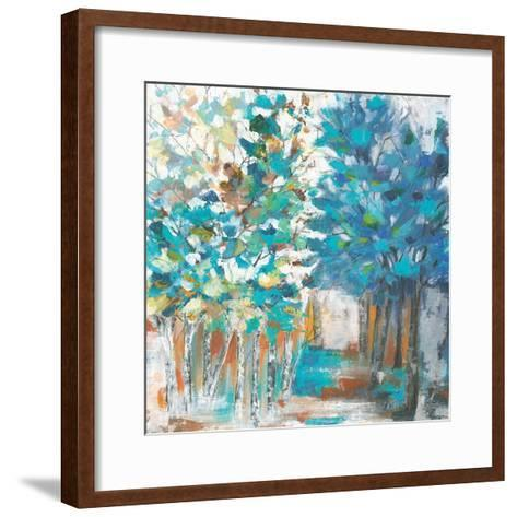 Pathway of Blue-Eva Watts-Framed Art Print