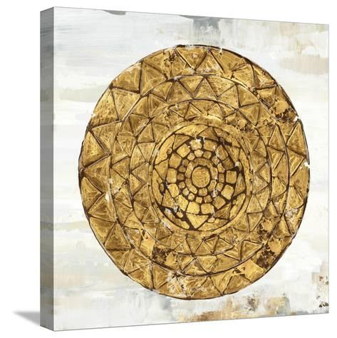 Gold Plate I-Tom Reeves-Stretched Canvas Print