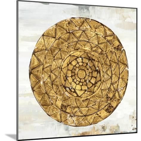 Gold Plate I-Tom Reeves-Mounted Art Print