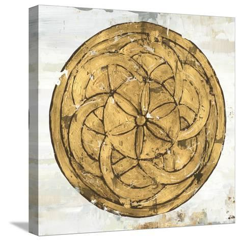 Gold Plate II-Tom Reeves-Stretched Canvas Print