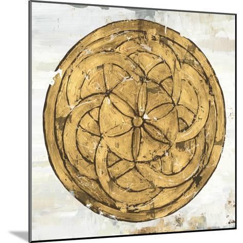 Gold Plate II-Tom Reeves-Mounted Art Print