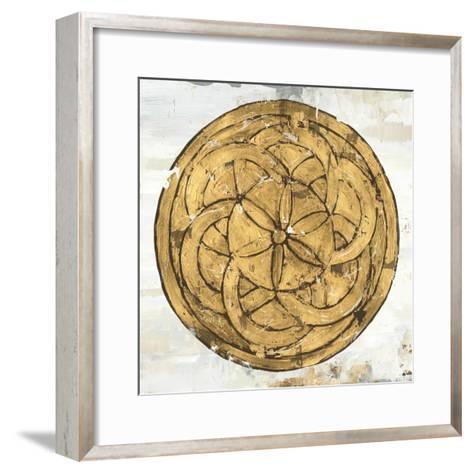 Gold Plate II-Tom Reeves-Framed Art Print