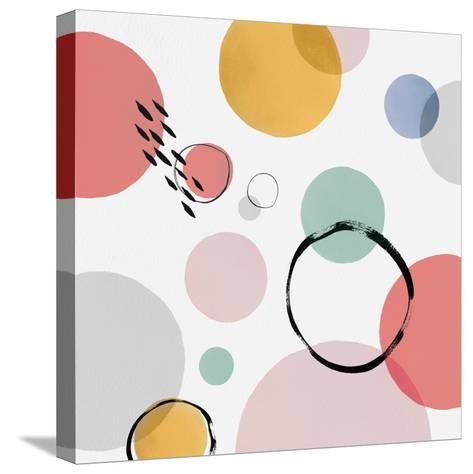 Colour Motion I-Isabelle Z-Stretched Canvas Print