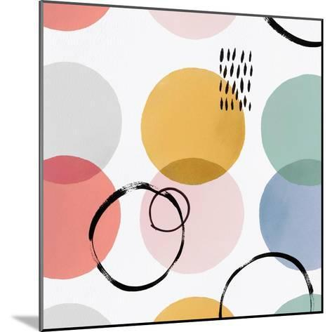 Colour Motion II-Isabelle Z-Mounted Art Print