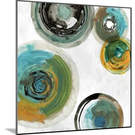 Spirals II-Tom Reeves-Mounted Art Print