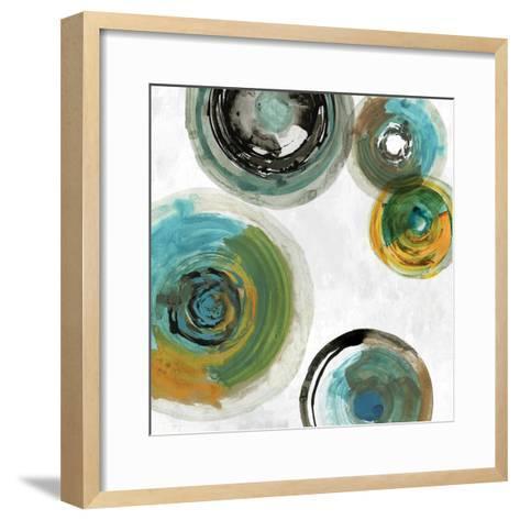 Spirals II-Tom Reeves-Framed Art Print