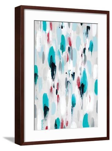 gouttes II-Isabelle Z-Framed Art Print