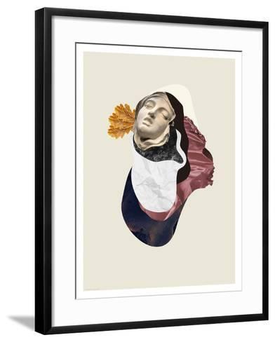 Feather light- Heaven on 3rd-Framed Art Print