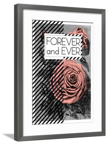 Forever And Ever--Framed Art Print