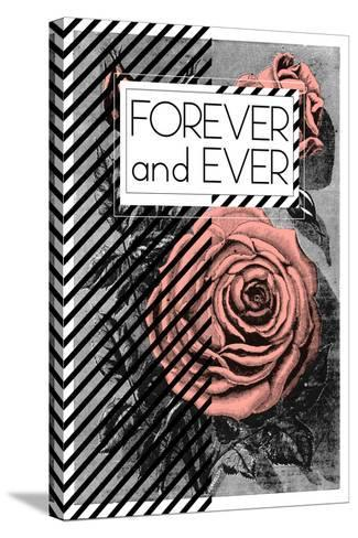 Forever And Ever--Stretched Canvas Print
