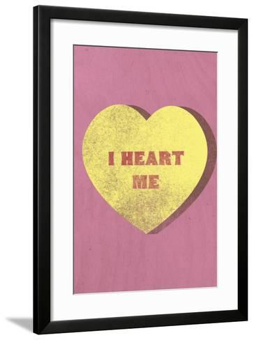 I Heart Me Candy--Framed Art Print