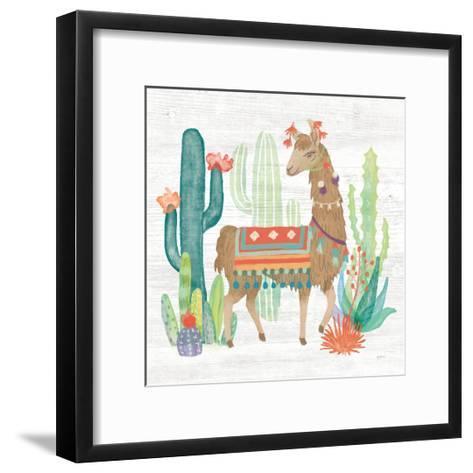 Lovely Llamas III-Mary Urban-Framed Art Print