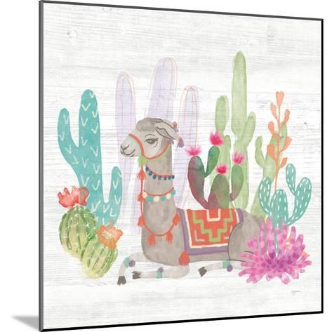 Lovely Llamas I-Mary Urban-Mounted Art Print