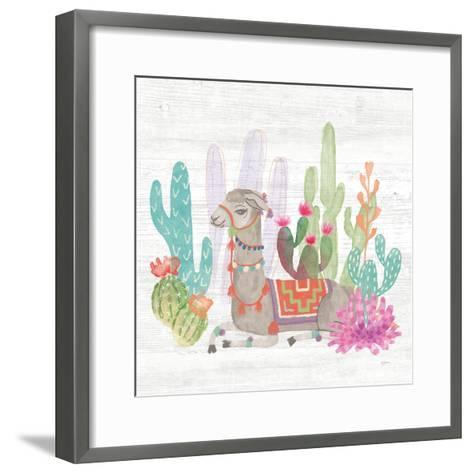 Lovely Llamas I-Mary Urban-Framed Art Print