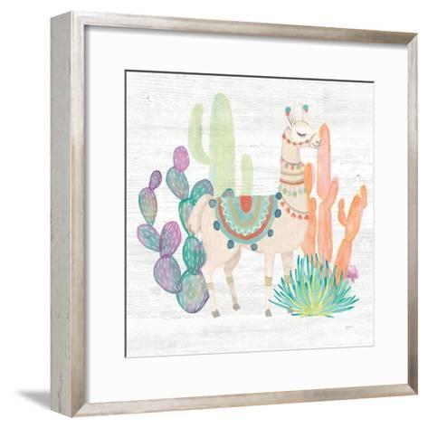 Lovely Llamas II-Mary Urban-Framed Art Print