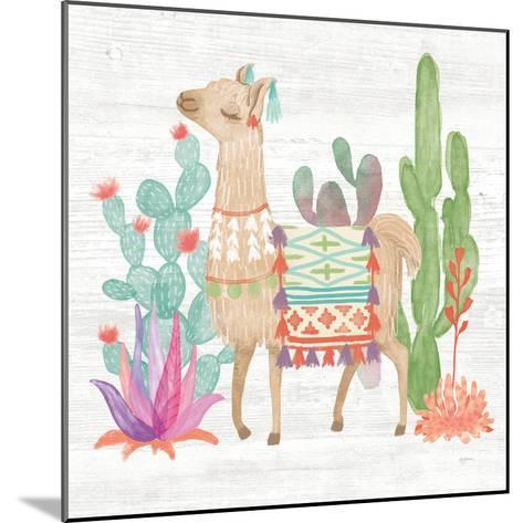 Lovely Llamas IV-Mary Urban-Mounted Art Print