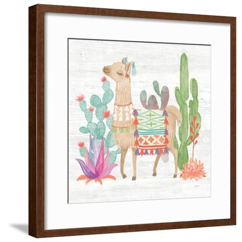 Lovely Llamas IV-Mary Urban-Framed Art Print