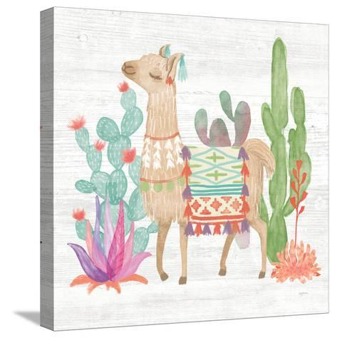 Lovely Llamas IV-Mary Urban-Stretched Canvas Print