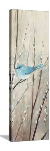 Pretty Birds Neutral III-Julia Purinton-Stretched Canvas Print
