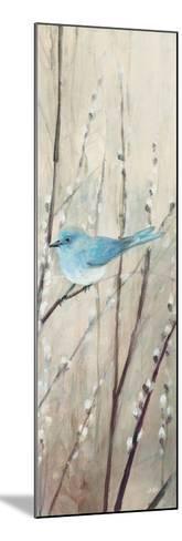 Pretty Birds Neutral III-Julia Purinton-Mounted Art Print