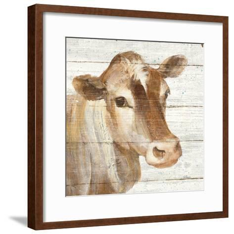 Looking at You I Shiplap-Albena Hristova-Framed Art Print