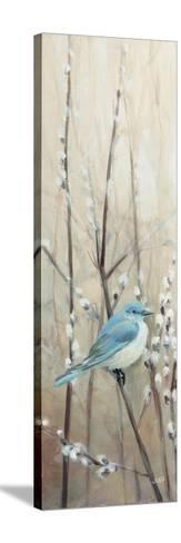 Pretty Birds Neutral II-Julia Purinton-Stretched Canvas Print