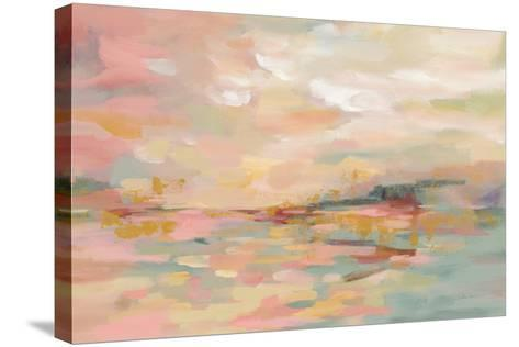 Pink Waves-Silvia Vassileva-Stretched Canvas Print
