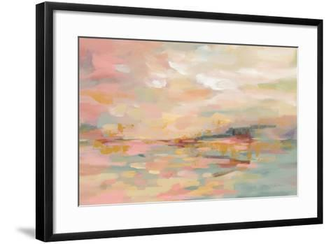 Pink Waves-Silvia Vassileva-Framed Art Print