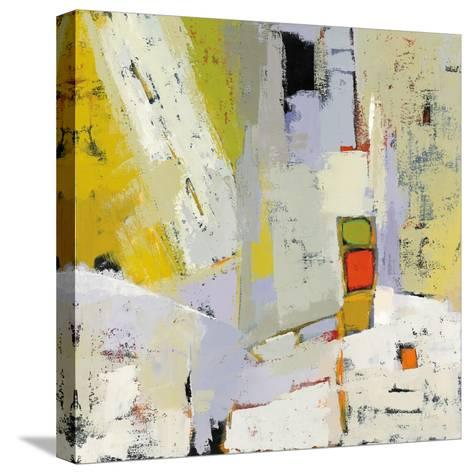 On the Sunnyside of the Street-Phyllis Adams-Stretched Canvas Print