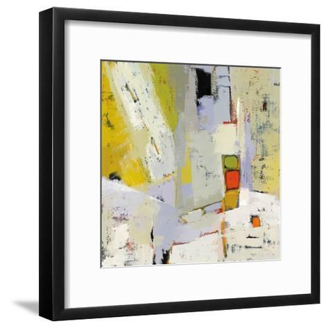 On the Sunnyside of the Street-Phyllis Adams-Framed Art Print