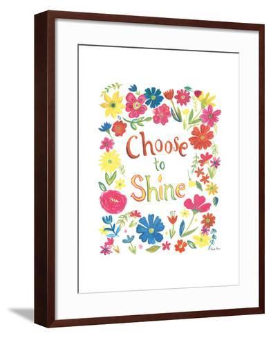 Floral Quote IV-Farida Zaman-Framed Art Print