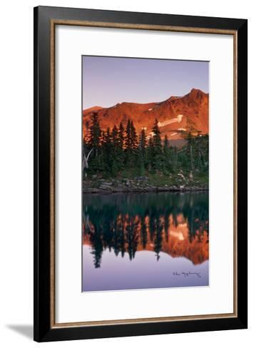 Mount Jefferson Panel I-Alan Majchrowicz-Framed Art Print
