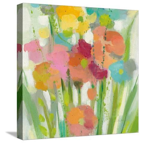 Longstem Bouquet II Square II-Silvia Vassileva-Stretched Canvas Print
