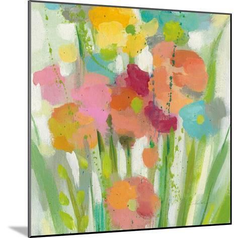 Longstem Bouquet II Square II-Silvia Vassileva-Mounted Art Print