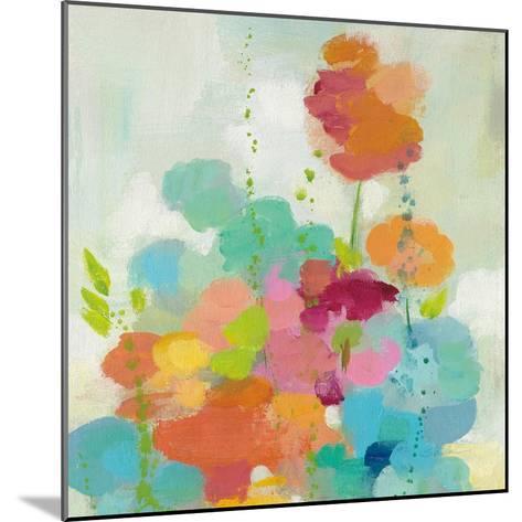 Longstem Bouquet II Square I-Silvia Vassileva-Mounted Art Print