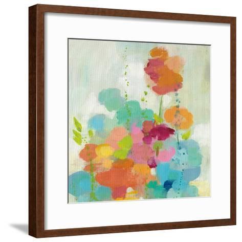 Longstem Bouquet II Square I-Silvia Vassileva-Framed Art Print