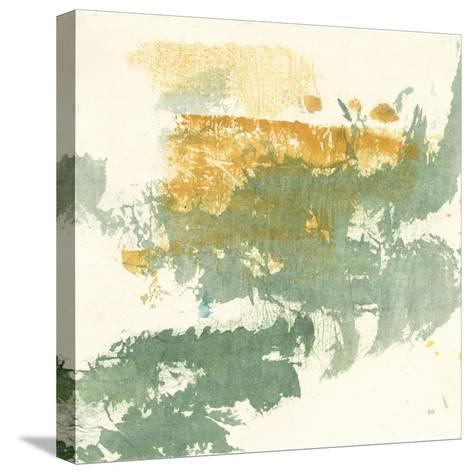 Textured Gold II-Chris Paschke-Stretched Canvas Print