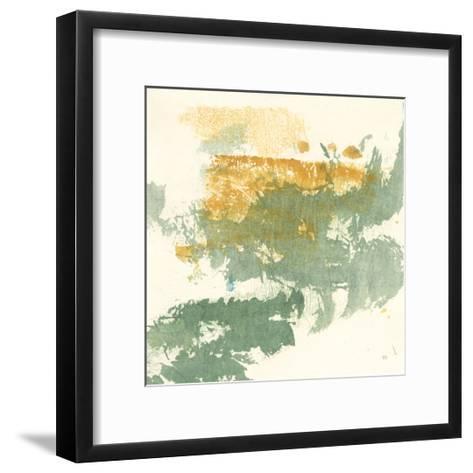 Textured Gold II-Chris Paschke-Framed Art Print