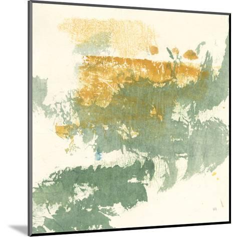 Textured Gold II-Chris Paschke-Mounted Art Print