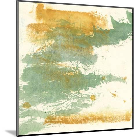 Textured Gold I-Chris Paschke-Mounted Art Print