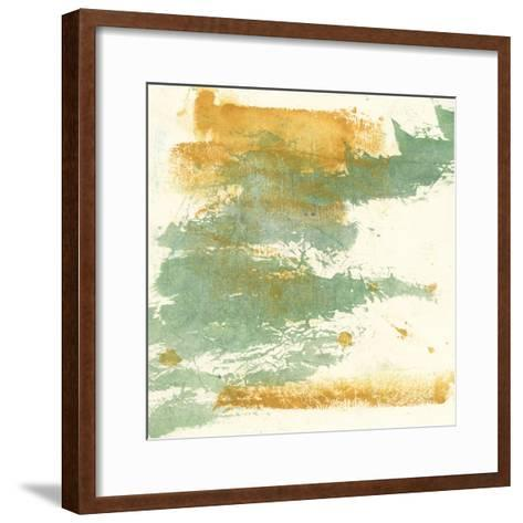 Textured Gold I-Chris Paschke-Framed Art Print