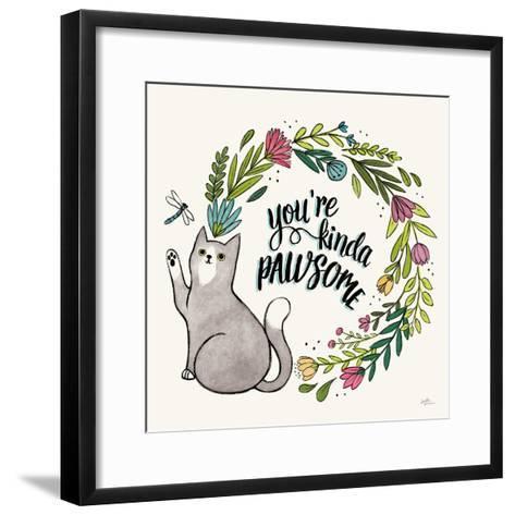 Purrfect Garden VIII-Janelle Penner-Framed Art Print